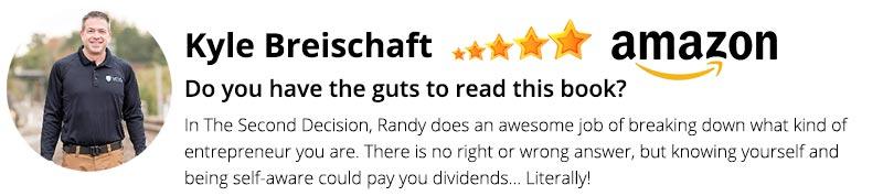 Kyle Breischaft review
