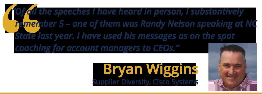 bryan wiggins testimonial