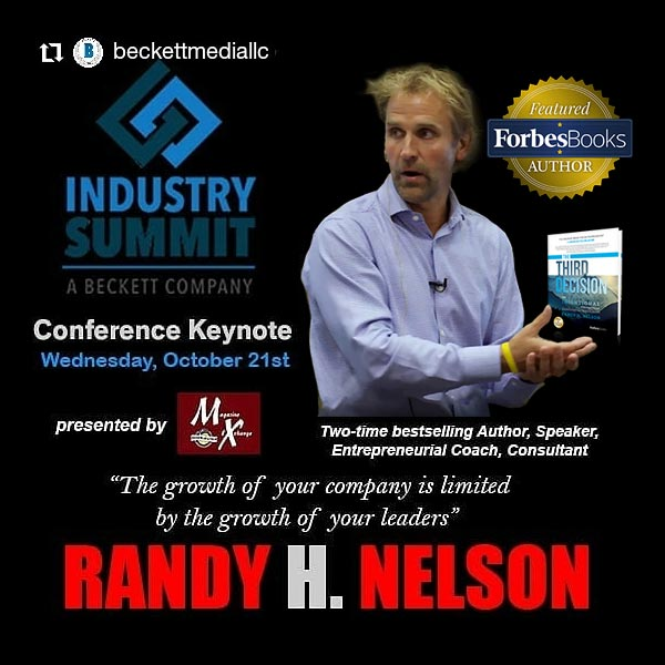 Randy at Beckett Industry Summit